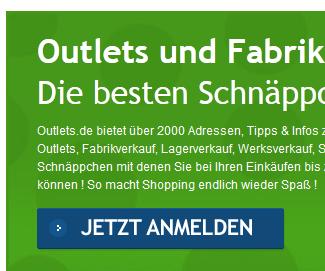 Abofalle: Outlets.de